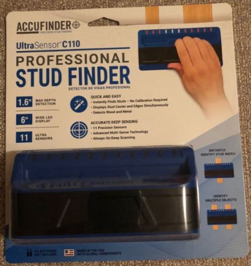 AccuFinder Ultra Sensor C110 Professional Stud Finder
