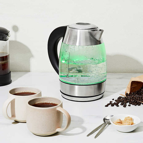 Chefman Glass Kettle with Infuser