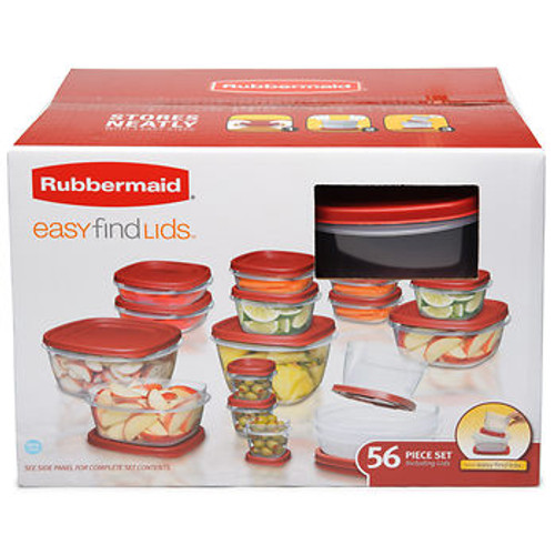 Rubbermaid 56-Pc. Food Container Set (1972028)