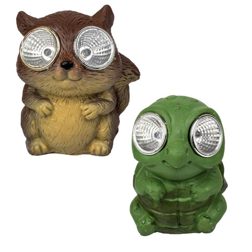 Solar-Powered Cement Garden Figurines Mix n' Match any 6 (283570)
