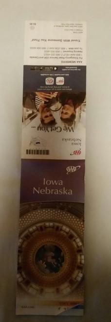 Iowa Nebraska Highway Map (aaa)