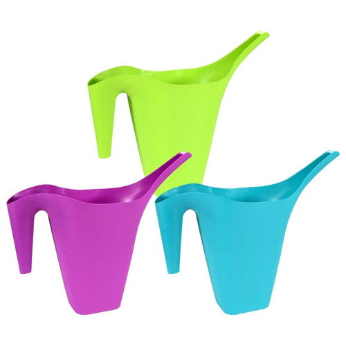 Colorful Plastic Watering Cans, 64 oz. (172970)