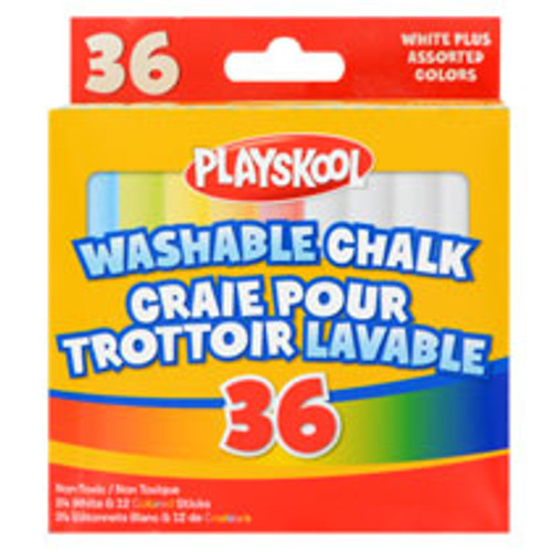 Playskool Washable Chalk, 36-ct. Boxes Dozen Deal
