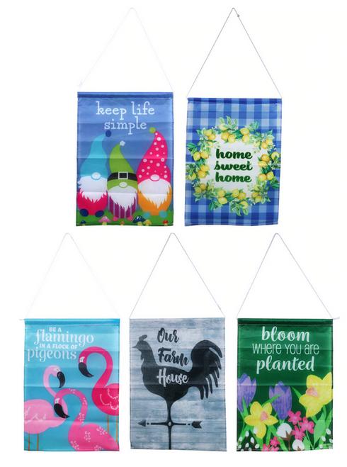 Printed Garden Flags