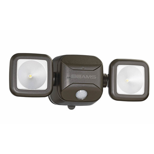 Mr. Beams Motion-Activated High-Performance Security Light - Brown ( MB3000-BRN-01-19)