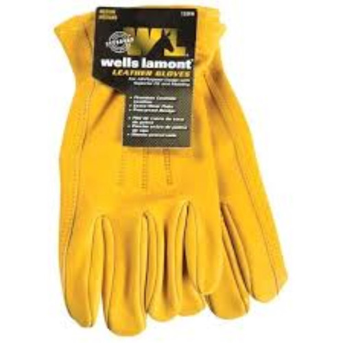 Wells Lamont Premium Leather Work Gloves