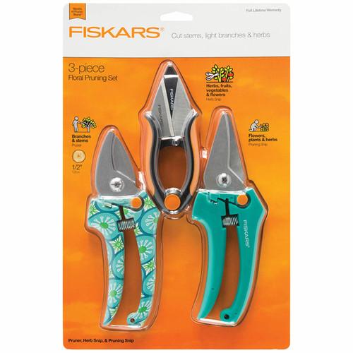 Fiskars Designer Pruning & Herb 3-Pc. Set (377770-1001)