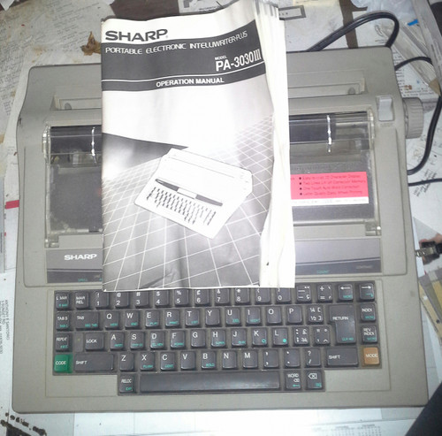 Sharp Portable Electronic Intelliwriter-Plus Clearance Priced (PA-3030III)