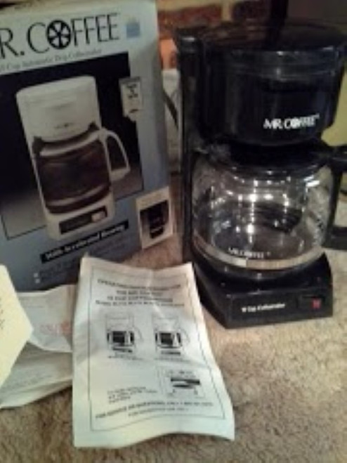 Mr Coffee 10 cup Automatic Drip Coffeemaker (BL113 )