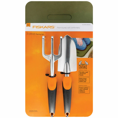 Fiskars Scratch Tool & Kneeling Pad 3-Pc. Set (188190)