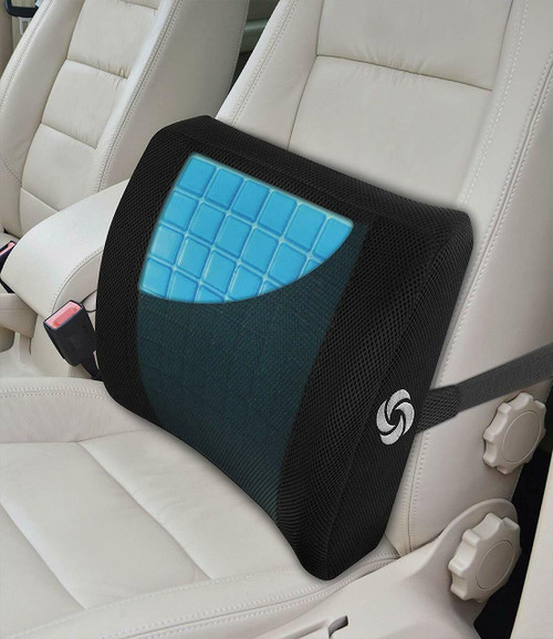 Samsonite Memory Foam+Cooling Gel Lumbar Support Cushion ( SA6086)