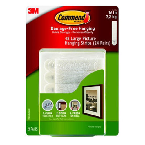 3 M Command Hooks Safe and Reliable Small Wire Hooks, Clear Plastic,