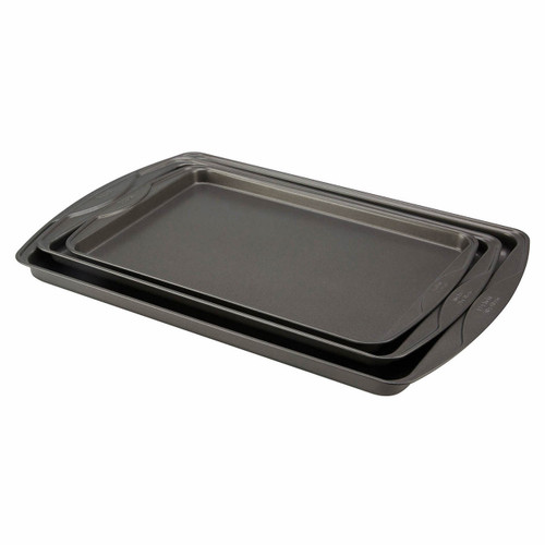 T-fal 3-Pc. Non-Stick Cookie Sheet Set (95328)