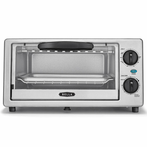 Bella 4-Slice Toaster Oven - Stainless Steel ( 14413)