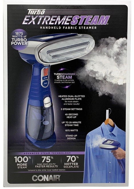 Conair Turbo Extreme Steam Handheld Fabric Steamer Model GS76XGD