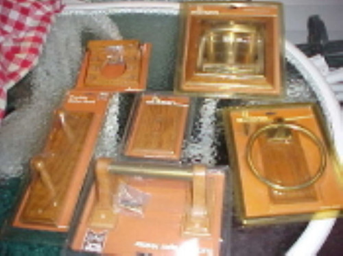 Allison solid oak Bathroom Fixtures 6 pc Set