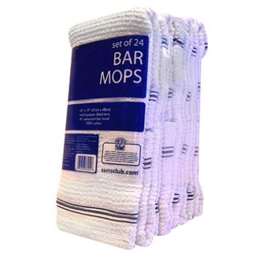 "Bar Mops -Kitchen Towel 16"" x 19"" - 24 ct."