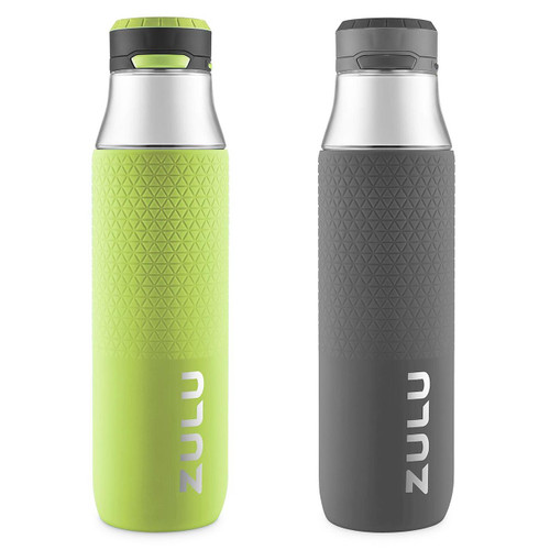 Zulu 32 oz. Studio Chug Tritan Water Bottles, 2 Pack (Assorted Colors) (283-2199-903-6)