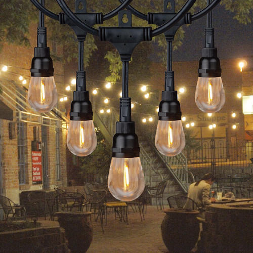 Honeywell 36' Commercial-Grade LED Indoor/Outdoor String Lights (980116635)