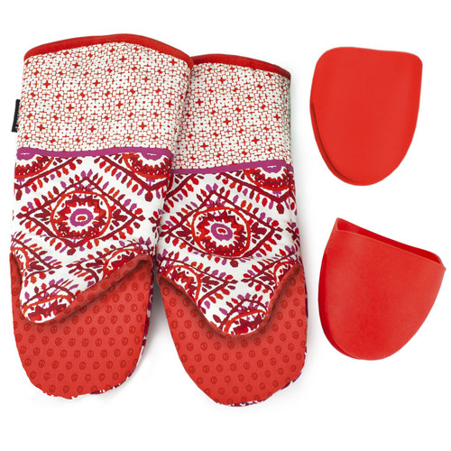 Cuisinart 4-Piece Oven Mitt Set - Red (980178684)
