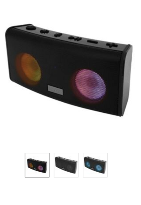 iHome iBT621 Waterproof Bluetooth Speaker with Voice Control ( IBT621B )