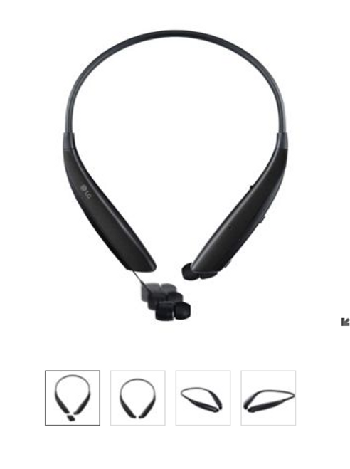 LG Tone Ultra Neckband Headphones (HBS-830.ABJSBKP)