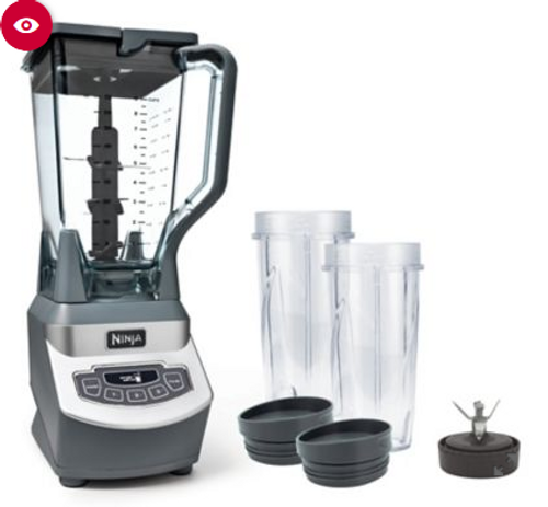 Ninja Professional Blender with Nutri Ninja Cups ( BL660B)