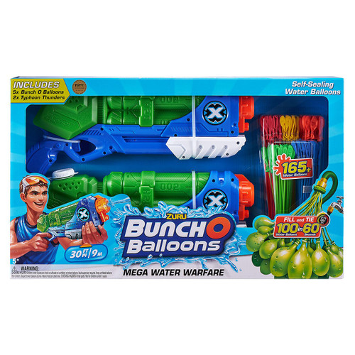 Dual Fling Launcher Set-2 Typhoon Blasters with 5 BOB Stems ( 56162)