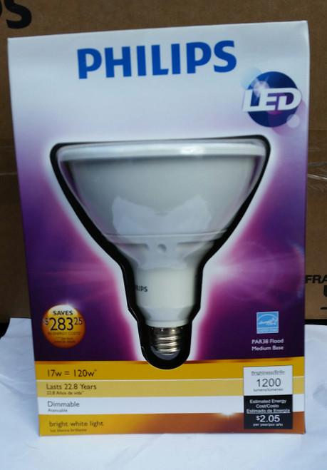 Phillips 432954 19.5 Watt Led Par38 Indoor Flood Light Bulb