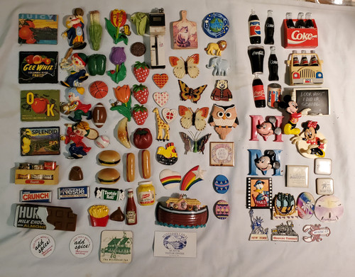 Vintage Magnets Buy the Lot of 80 plus