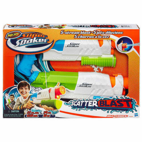 NERF Super Soaker Scatterblast - 2 in 1 Blaster Play Set (SG-412931)