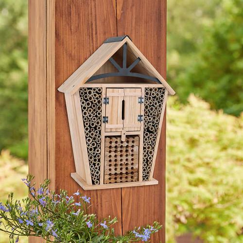 Farmhouse Native Bee House