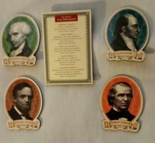 The Worst Vice President Magnets (wvpm5)