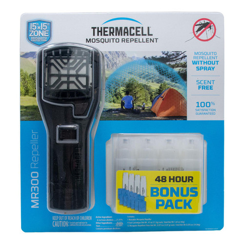 Thermacell Portable Mosquito Repeller Bonus Pack with 48 Hours of Mosquito Repellent (980188244)