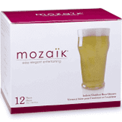 Mozaik Premium Plastic Beer/Wine Glasses choose from 2 style