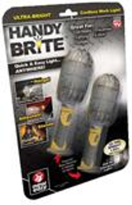 Handy Brite Ultra-Bright Cordless LED Work Light, 2 pk. (HB2-CD12) (