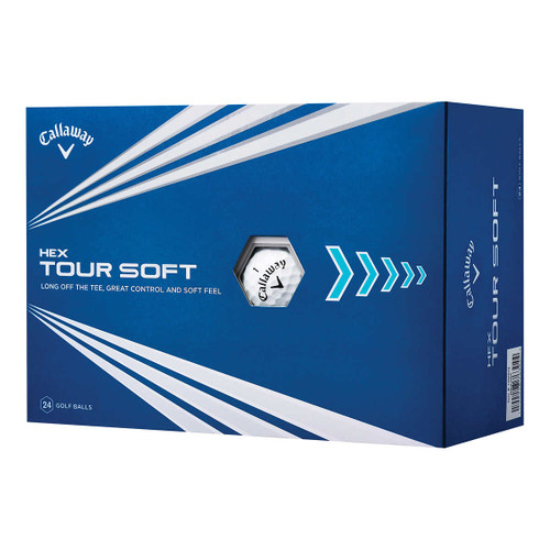 Callaway Hex Tour Soft Golf Balls for Long Tee Spin Control (190228763044)