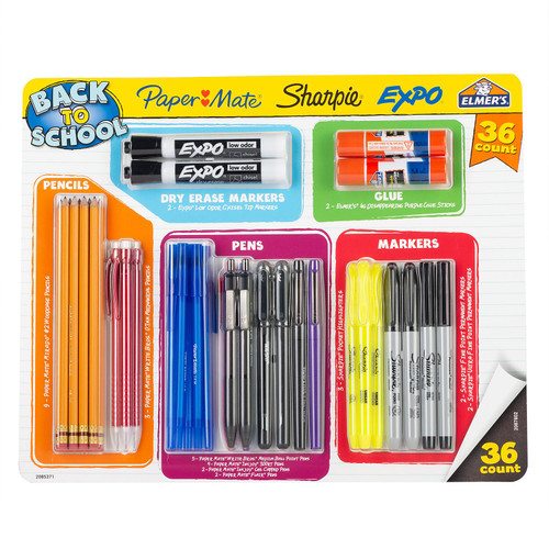 Papermate Back-to-School Kit - 36 Piece Kit