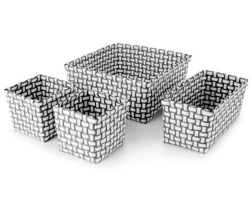 Woven Strap Storage Bins, 4-Piece (431890)