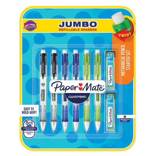PaperMate ClearPoint Mechanical Pencil, 8 Pack ( 1814996 )