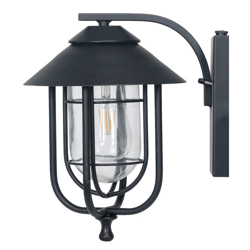 Honeywell Decorative Wall Lantern with LED Vintage Filament Bulb (SS01GG010820)