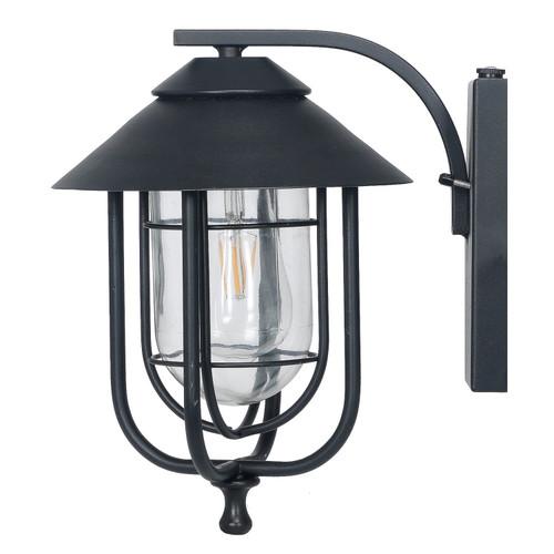 Honeywell Decorative Wall Lantern with LED Vintage Filament Bulb (SS01GG010820)