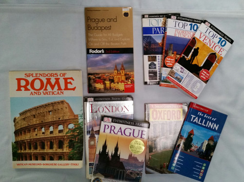 Europe Travel Guides Lot of 9