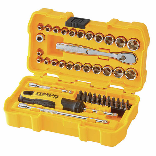 "DeWalt 1/4"" Drive 50-piece Mechanics Set ( DWMT81610"