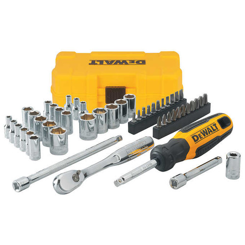 "DeWalt 1/4"" Drive 50-piece Mechanics Set ( DWMT81610"