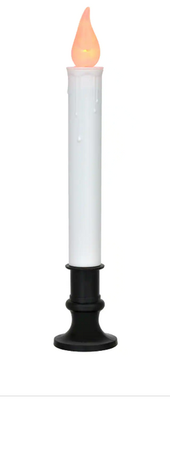 Battery-Operated LED Window Candles, 9.5 in. set of 6 (223544)