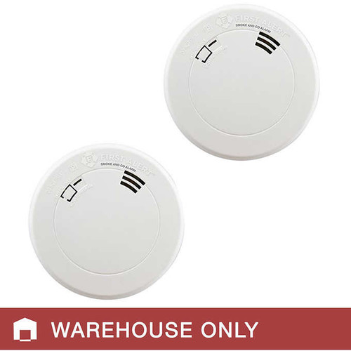 First Alert 10 Year Smoke and Carbon Monoxide Alarm, 2-pack
