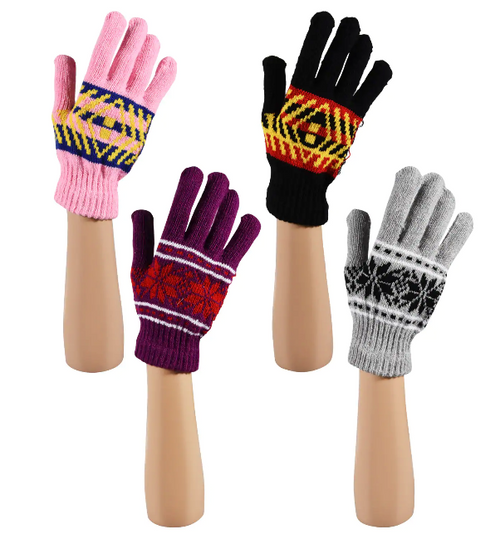 Ladies Winter Gloves Mix n' Match any 6 for Larger Discount (279788)