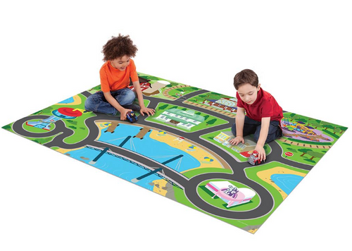 Jumbo Mega Mat and Character Vehicles - Assorted Styles