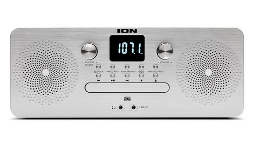 ION Audio Air CD Pro 4-in-1 Music System with Wireless Streaming (ICD08 )